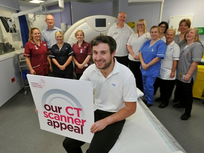 CT Scanner Appeal Staff Placard