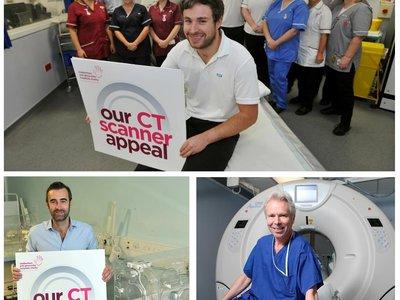 CT scanner staff