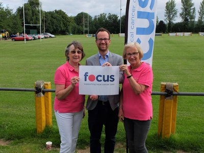 Cotswold caper fundraising for Focus