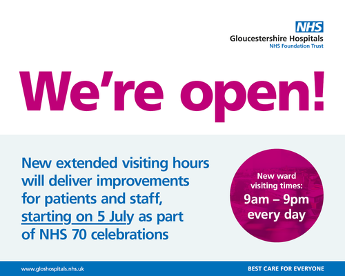 New visiting hours