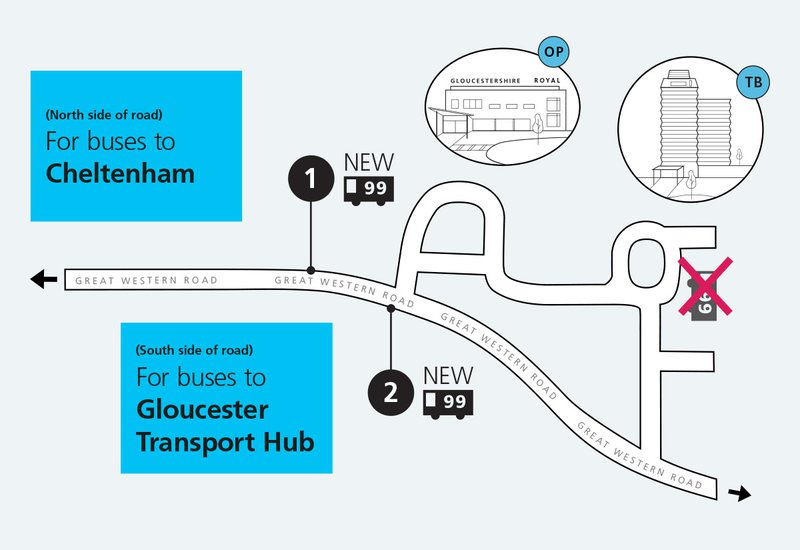 99 bus reroute due to site works