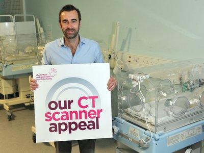 CT Scanner Appeal: Simon Pirie