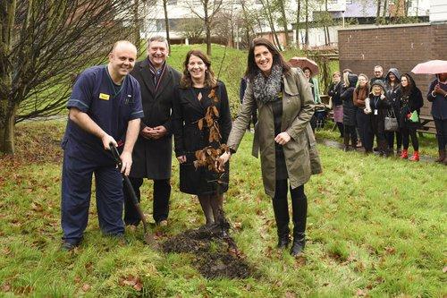 Tree planting at Gloucestershire Royal Hospital.jpg