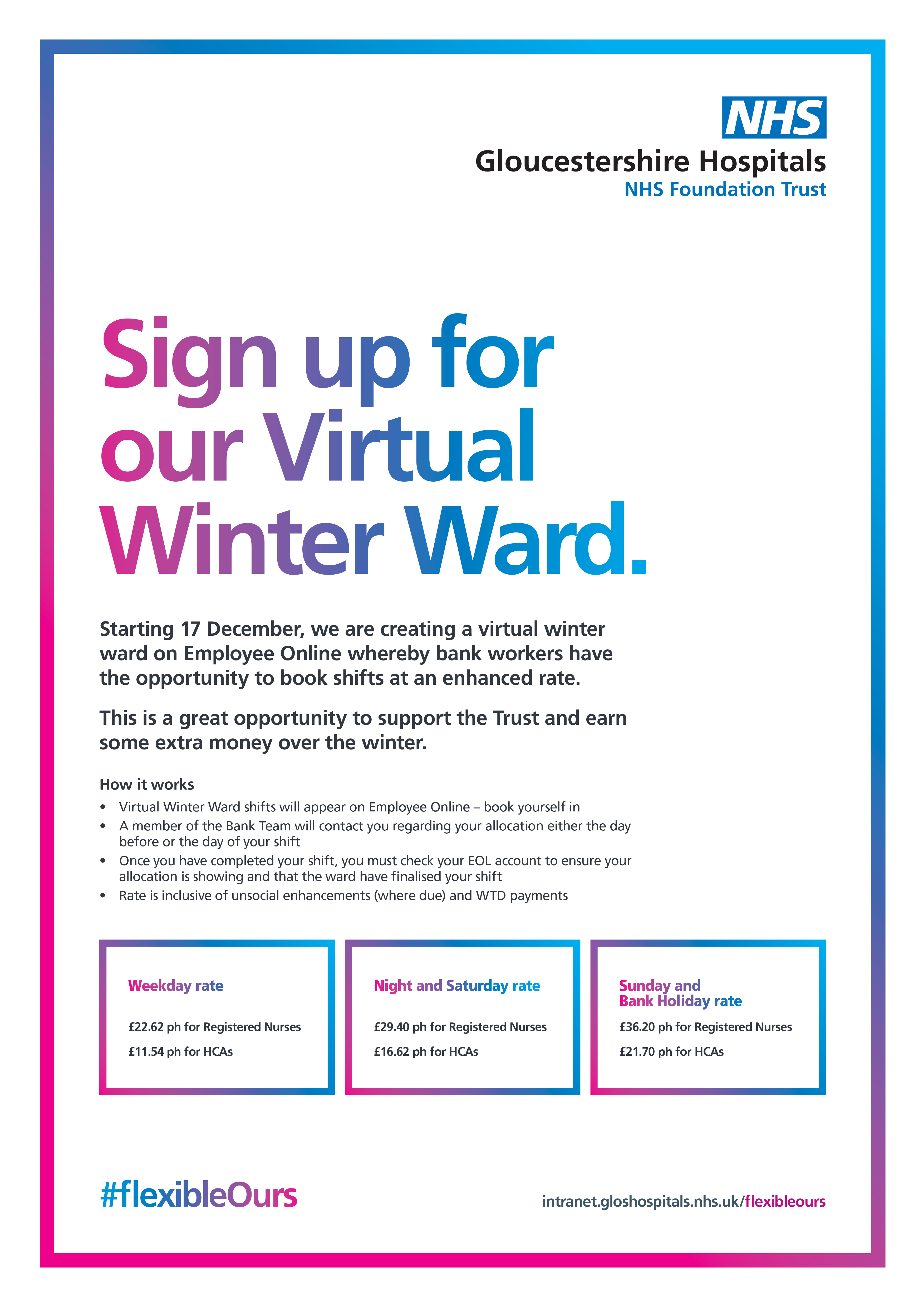 Sign up for our virtual winter ward!