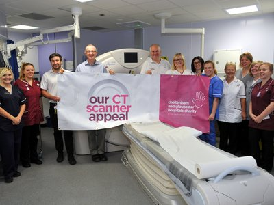 CT Scanner Appeal Staff